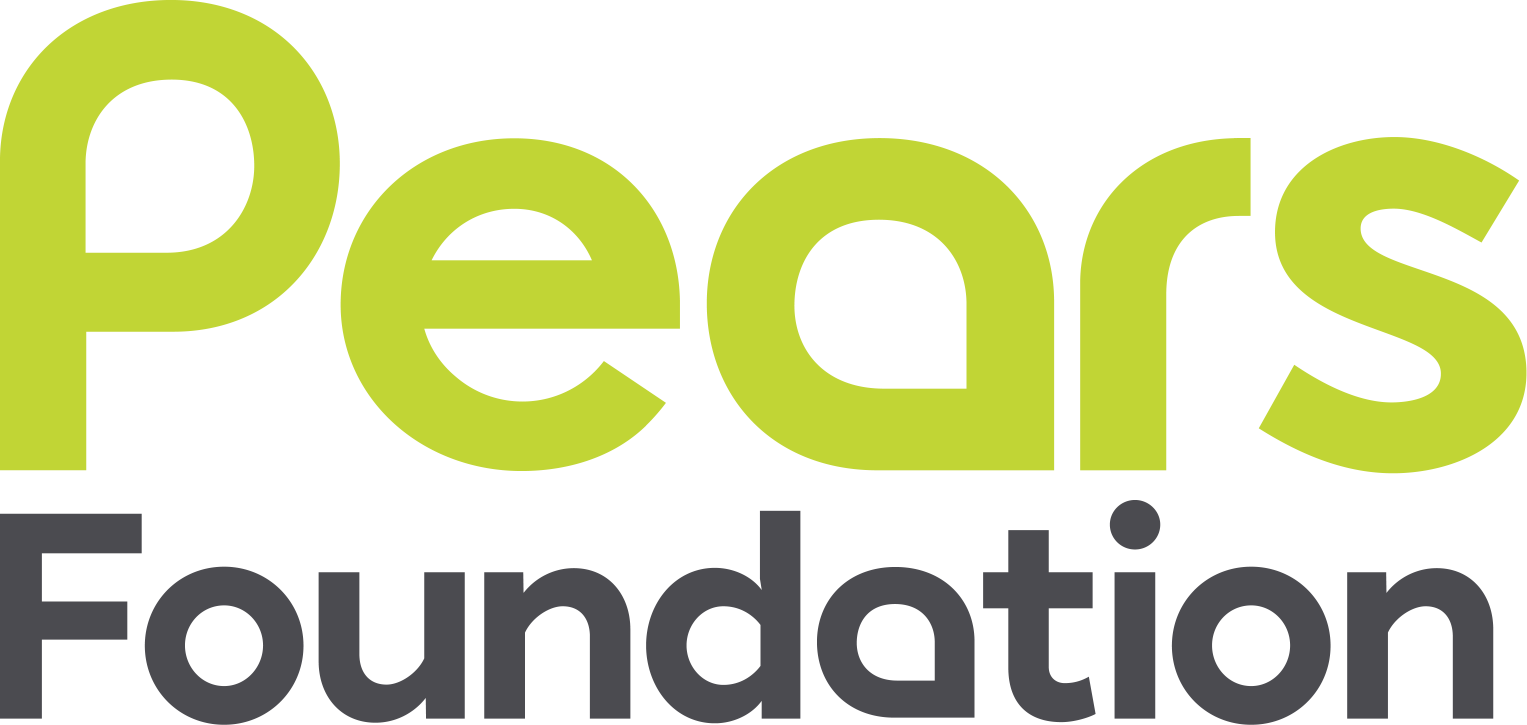Pears Foundation logo and link