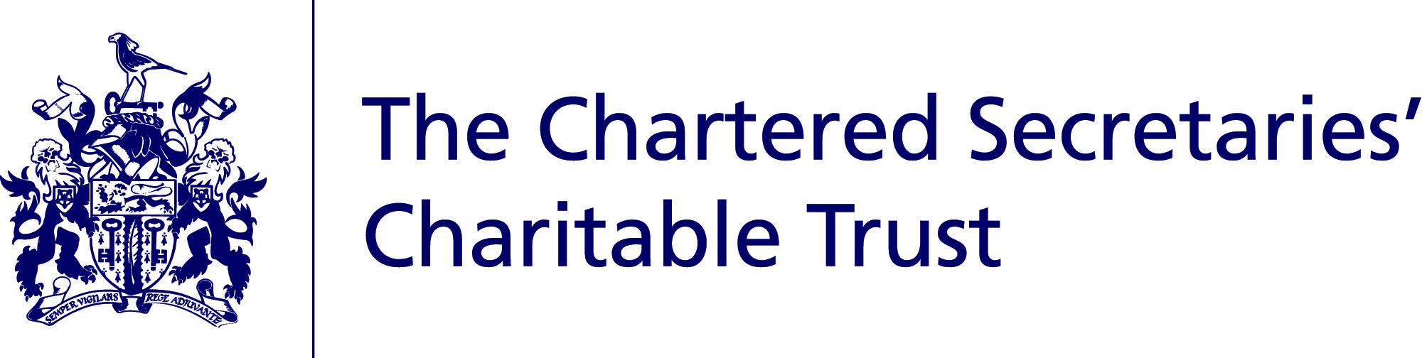 charitable trust logo cmyk blue