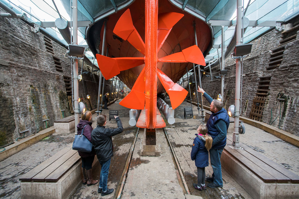 SS Great Britain (copyright AIM)