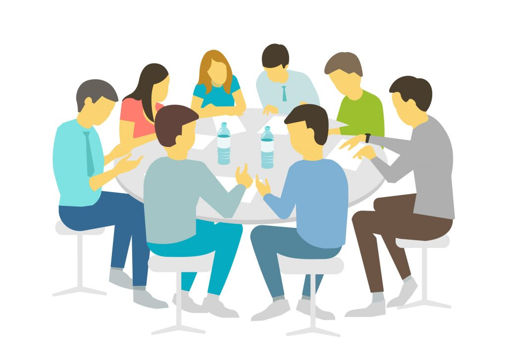 Image of a board meeting